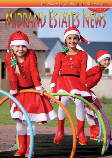 The Midrand Estates Newsletter - December 2012 1