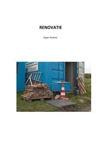 RENOVATIE - Gerrit Rietveld Academie