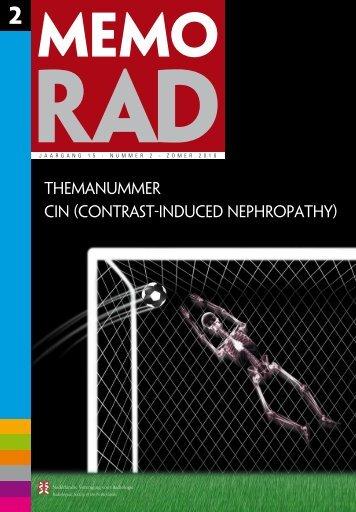 MemoRad 2010-2 - Nederlandse Vereniging voor Radiologie