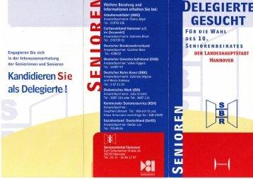 SBR Hannover sucht Delegierte - NANAnet
