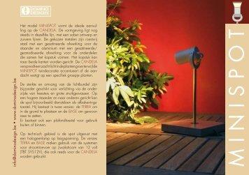 download brochure MINISPOT (270K)