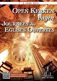 open kerken open kerken open kerken open kerken - Eglises ouvertes