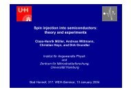 Spin injection into semiconductors: theory and experiments