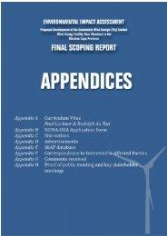 Appendices - CSIR