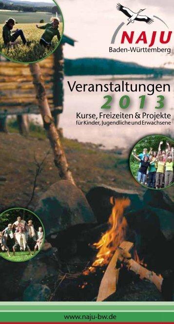 2013 - Naturschutzjugend Baden-Württemberg