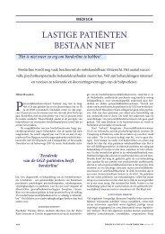 Medisch Contact (oktober 2006):