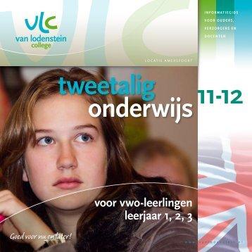 11-12 tweetalig onderwijs - Van Lodenstein College