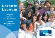 A step up to the rest of your learning life. - Lorentz Lyceum