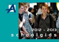 Schoolgids 2012-2013 (1,4 MB) - Alfrink College