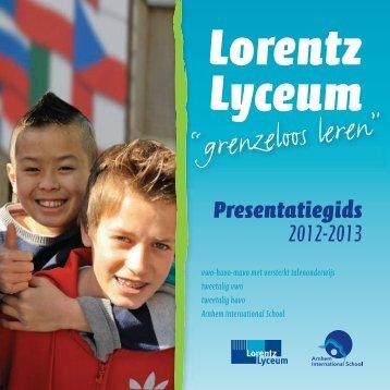 """""""grenzeloos leren"""" - Lorentz Lyceum"""