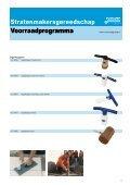 Stratenmakers gereedschap - Voskamp Groep - Page 5