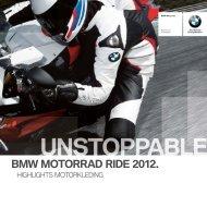 BMW MOTORRAD RIDE 2012. - BMW Motorrad Belgium