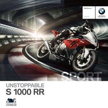 Catalogue S 1000 RR - BMW Motorrad Belgium