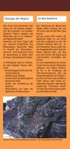 """Faltblatt """"Gesteins-Freigelände"""" - Nationalpark Bayerischer Wald - Seite 2"""