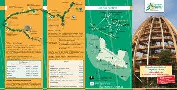 centrum národního parku Lusen - Nationalpark Bayerischer Wald