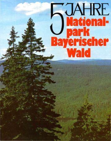 Festschrift - Nationalpark Bayerischer Wald
