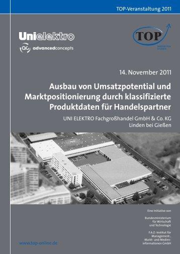 Ausbau von Umsatzpotential und ... - advanced-concepts