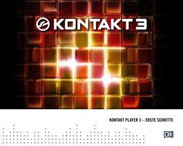 Kontakt Player Getting Started German - Native Instruments
