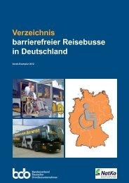 Verzeichnis barrierefreier Reisebusse in Deutschland - NatKo