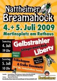 Flyer A6-Breamahock - Nattheim