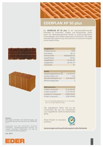 EDERPLAN XP 50 plus - natureplus