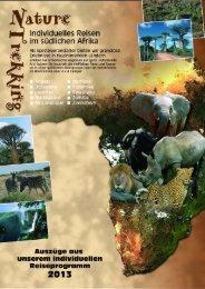 Tiere ? Berge - Kulturen - Nature Trekking