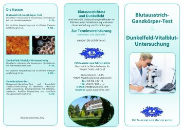 Download Dunkelfeld-Flyer - HG Naturklinik Michelrieth