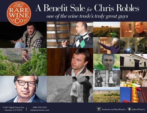 chris-robles-benefit-sale-catalogue