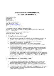 AGB - Naturkostaktiv GmbH
