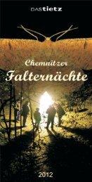 Flyer über die Chemnitzer Falternächte 2012 - Museum für ...