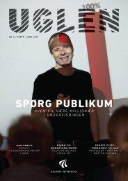 SpØrG pUBliKUM - UGlen - Aalborg Universitet