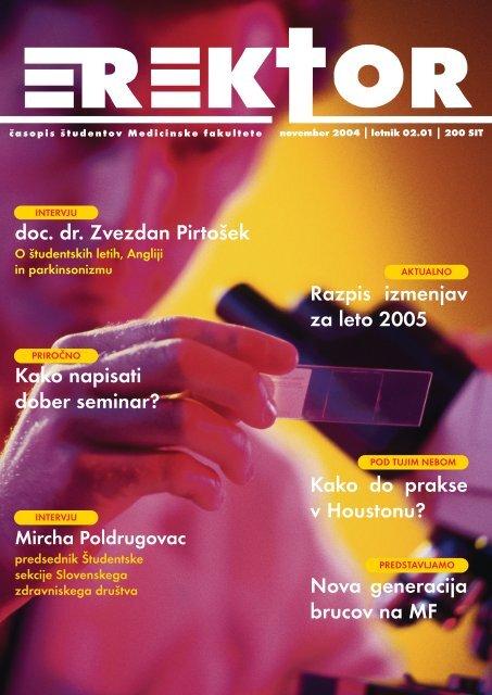 November 2004 - Društvo študentov medicine Slovenije