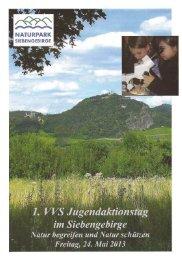 Flyer - Naturpark Siebengebirge