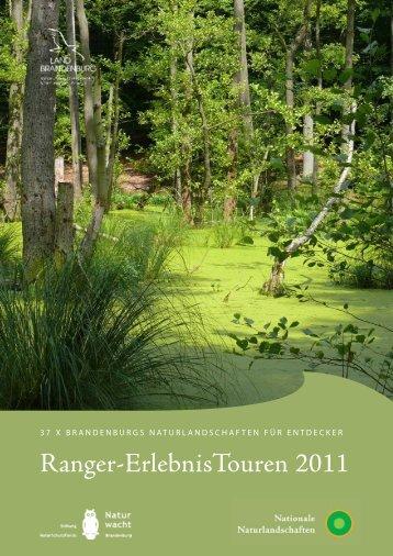 Ranger-ErlebnisTouren 2011 - Naturwacht Brandenburg