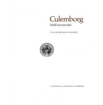 Culemborg, beeld van een stad - Voet van Oudheusden
