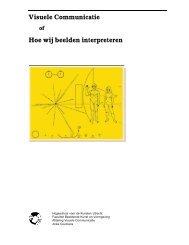 Visuele Communicatie Hoe wij beelden interpreteren - Dvtg
