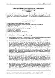Anlage 2 zu VV Nr. 5.1 zu Para 44 - ANBest - P_Erlass ... - BRAVORS