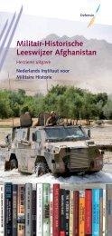 Militair-Historische Leeswijzer Afghanistan - Boekje Pienter