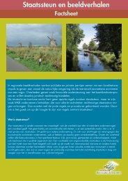 Factsheet Staatssteun en beeldverhalen (2011) - Stichting Innovatie ...
