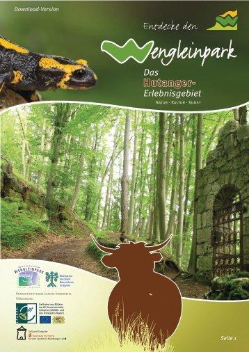 Entdecke den Wengleinpark - Das Hutanger-Erlebnisgebiet