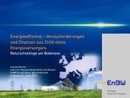 EnBW, A.Renner - Naturschutztage am Bodensee