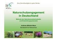 Engagement Naturbewusstsein, A.Mue
