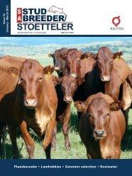 Plaasbesoeke • Lamhokkies • Genomic selection ... - SA Stamboek