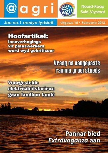 Uitgawe 10 – FEB 2013 - agri - spmdesigns.co.za