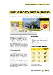 15% - Österreichische Post AG