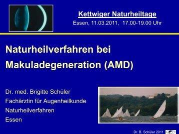 Naturheilverfahren Bei Makuladegeneration - Natur und Medizin e.V.