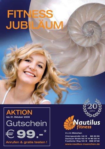 Jubilaeum A4 Druck textversion:. - Nautilus Fitness