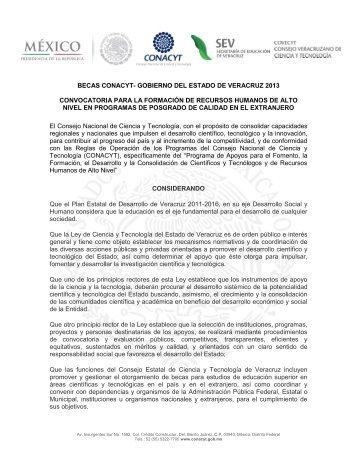 Convocatoria_Becas_CONACYT-Gob_Veracruz