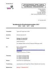 Norddeutsche Meisterschaft