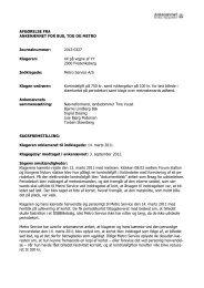 Afgørelse 2012-0327, 18. februar 2013 - Ankenævnet for Bus, Tog ...